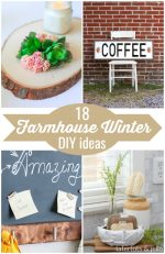 Great Ideas — 18 Farmhouse Winter DIY Ideas!