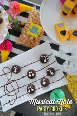 How to Make Musical Note Party Cookies!