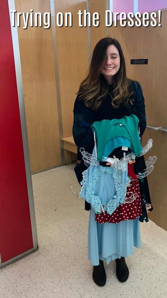 Spring dress shopping at savers - this is what happened!