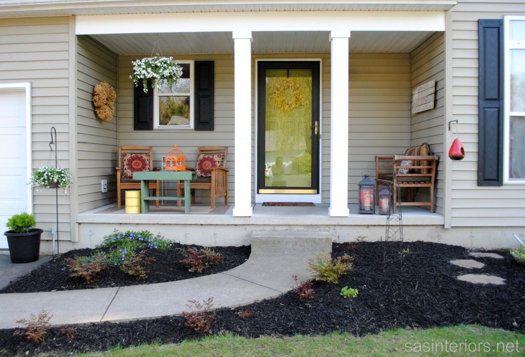 Spring porch ideas.