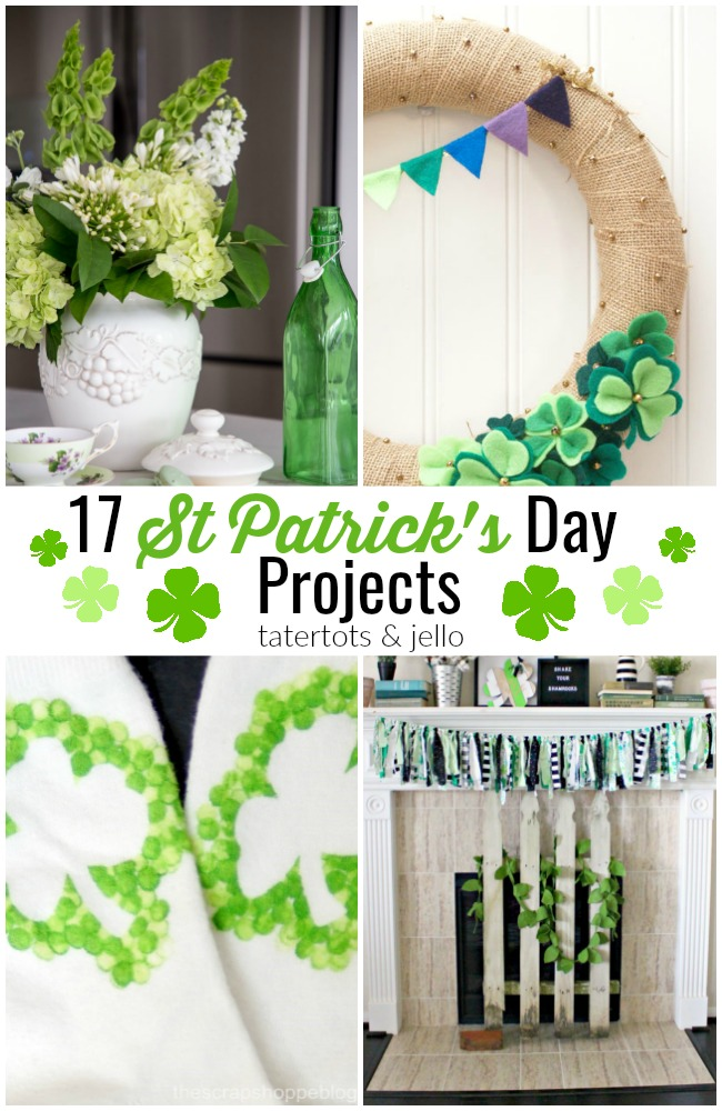 17 St Patrick's Day Projects!