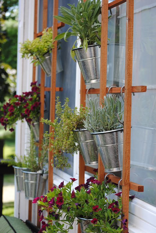 Spring vertical garden ideas.