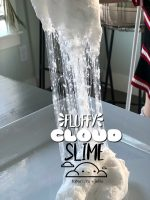 Fluffy Cloud Slime – a softer, fluffier slime that is So fun to make!