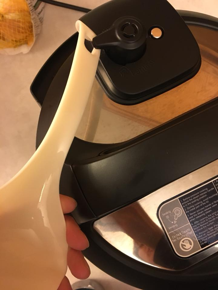 how to turn your instant pot release valve