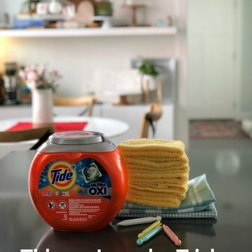 tide versus laundry tricks - I tried them and this is what happened!
