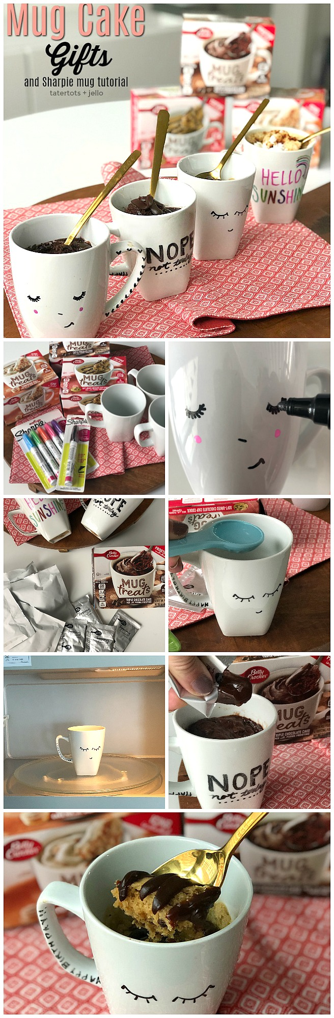 Sharpie Mugs And Mug Cake Gift Ideas Perfect Gift For Anyone