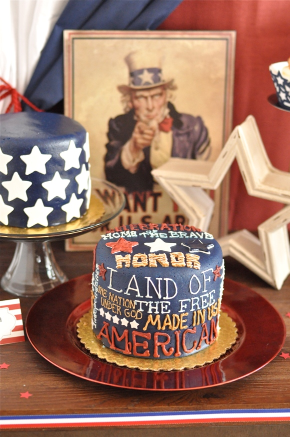 12 RED WHITE and BLUE Fourth of July Ideas