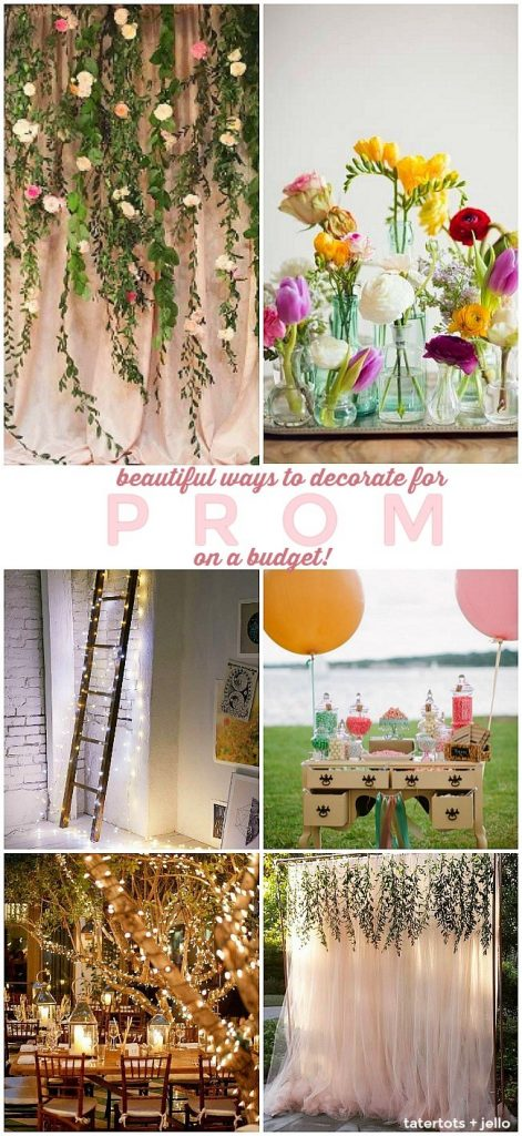4 ways to decorate for a summer party on a BUDGET