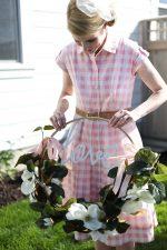 DIY Magnolia Garden Wreath Tutorial