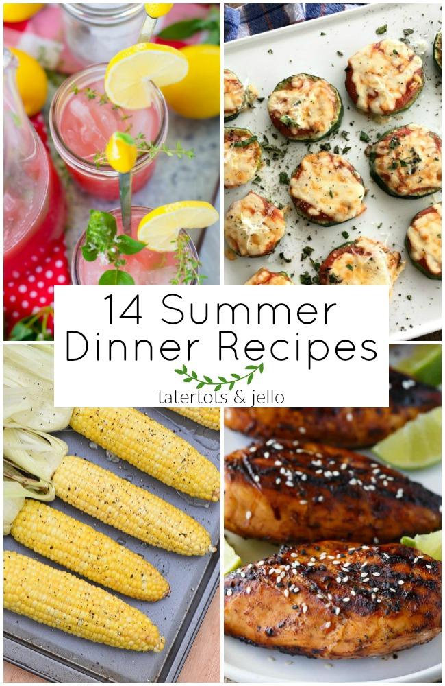 14 Summer Dinner Recipes