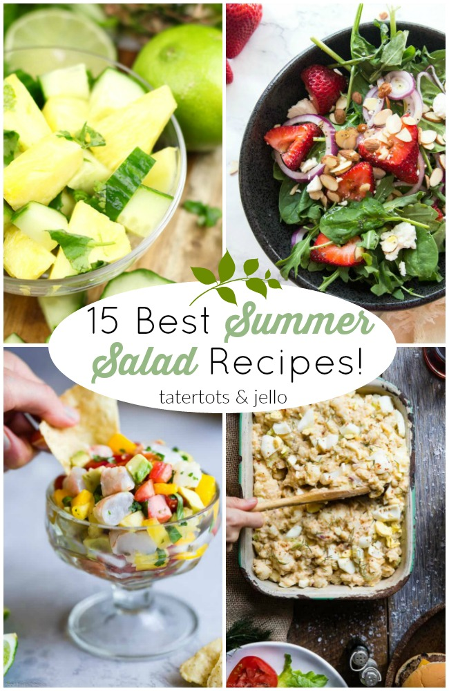 15 Best Summer Salad Recipes