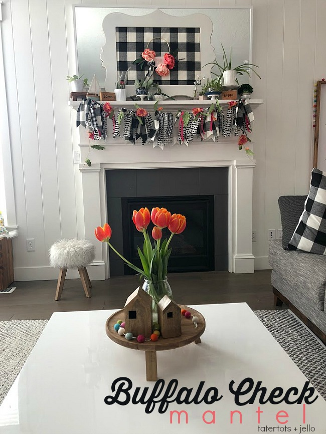 Make a peony buffalo check hoop wreath. Celebrate summer with a bright and beautiful peony wreath on a modern wire hoop. I added Buffalo Check fabric to my wreath and mounted it on a fabric-covered frame.