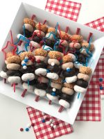 Fourth of July Mini Donut Skewers