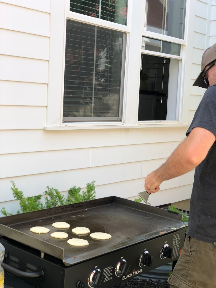 Throw a Kids' Pancake Party + the FLUFFIEST Lemon Ricotta Pancakes