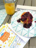 Throw a Kids' Pancake Party + Lemon Ricotta Pancakes with Homemade Blueberry Sauce!