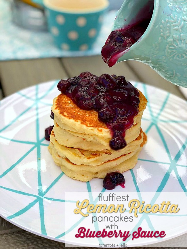 throw a kids pancake party with lemon ricotta pancakes recipe