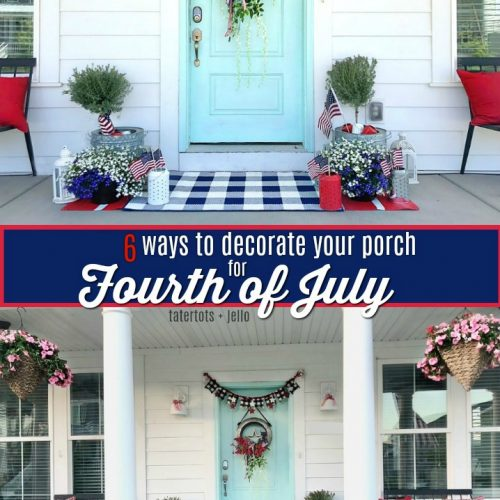 six ways to decorate your porch for the fourth of july