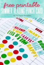Free Kids Summer Reading Log Printables!