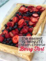 The Easiest 15-Minute Cream Cheese Berry Tart