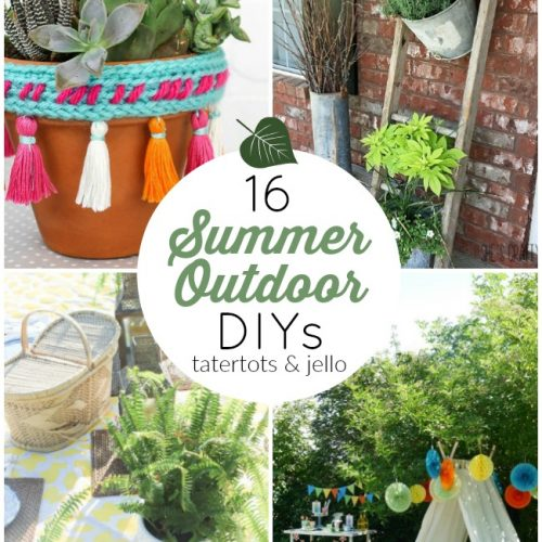 16 DIY Summer Outdoor Projects