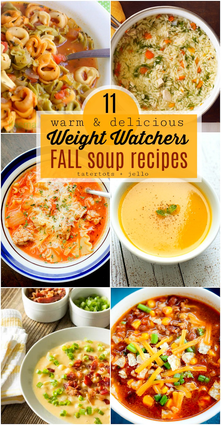11 warm and delicious fall weight watchers recipes