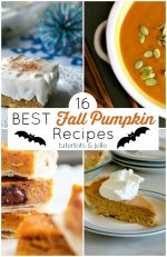 16 of The BEST Sweet + Savory Fall Pumpkin Recipes!