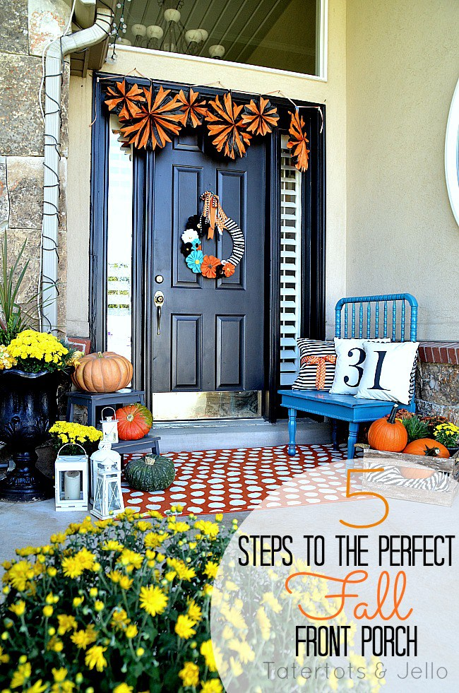 5 steps to make the perfect fall porch