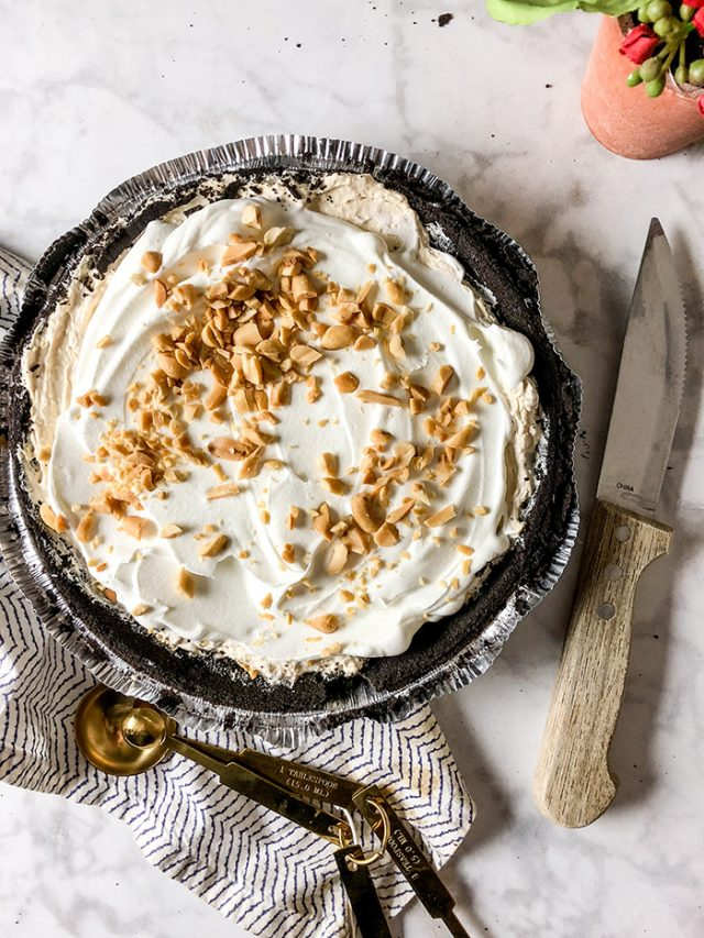 Weight Watchers No Bake Peanut Butter Pie