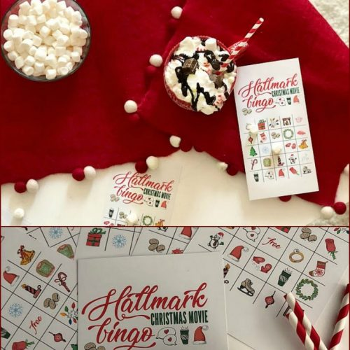 free Hallmark Channel holiday BINGO game