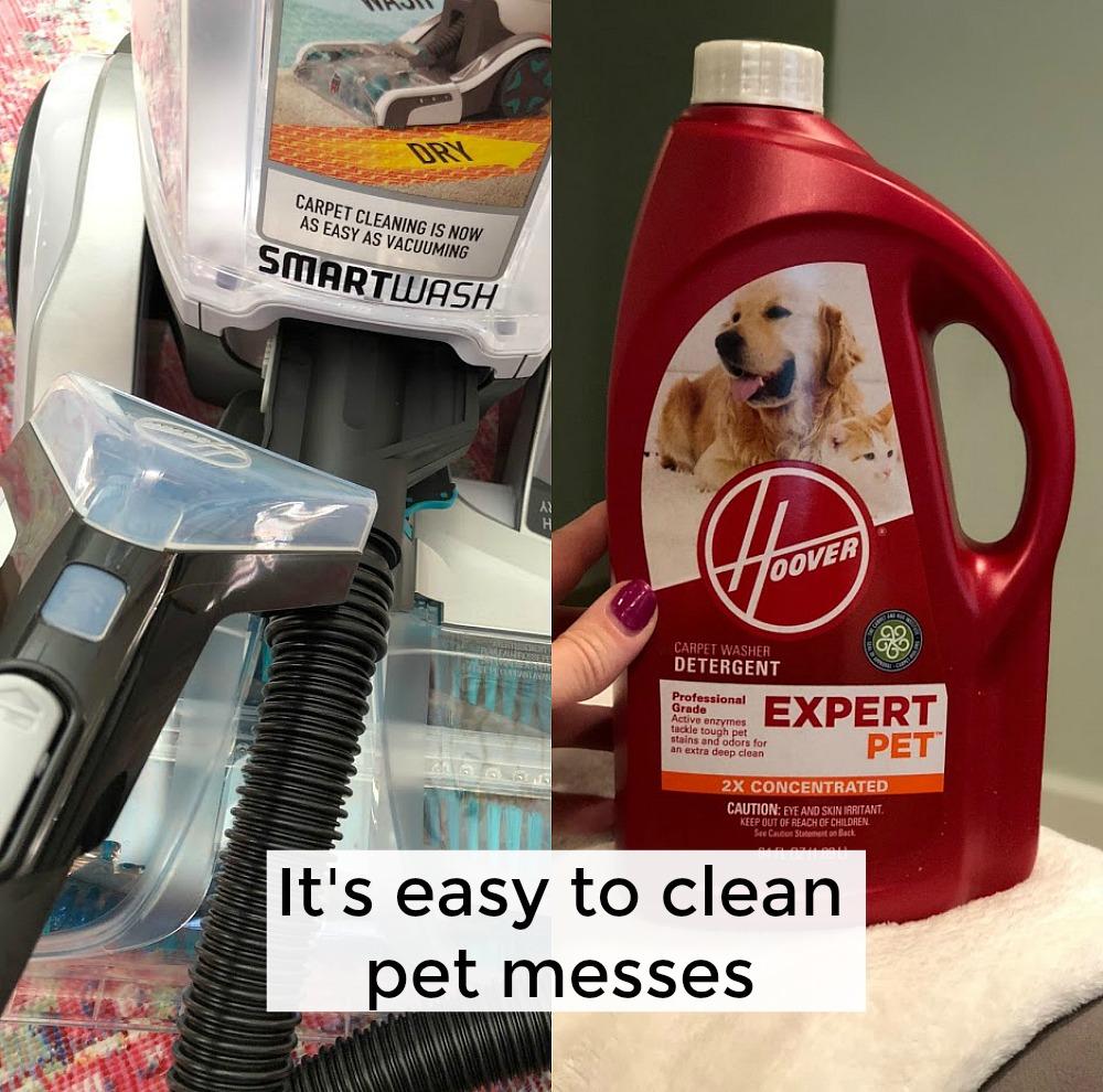 Hoover SmartWash carpet cleaner pet accessories