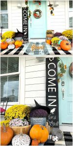 Make a GIANT Witch Halloween Sign!