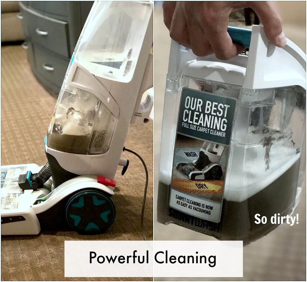 smartwash carpet cleaner review