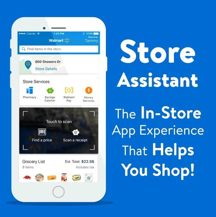 how to use the walmart app