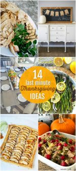 14 Last Minute Thanksgiving Ideas