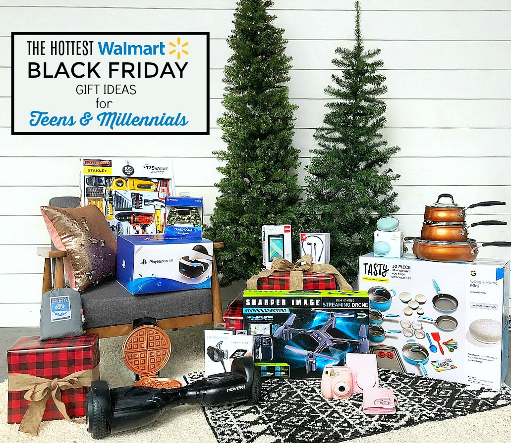 The HOTTEST Walmart Black Friday Deals - Gift Guide for Teens and Millennials!This gift guide is full of fun games, helpful electronics, and cookware teens and millennialscan use as they move away to college or get their first apartment, plus equipment that will help them explore the world.
