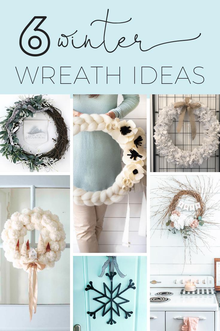 6 winter wreath tutorials