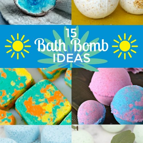 15 bath bombs to make with your kids