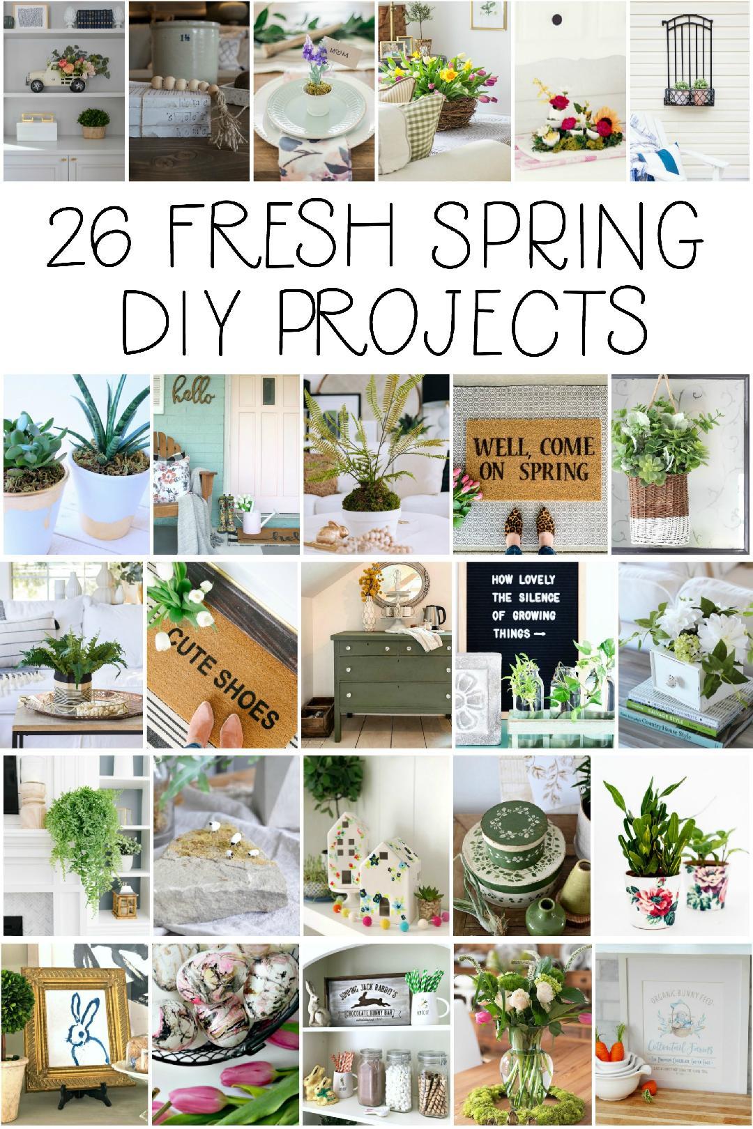 26 easy DIY Spring Ideas to make!