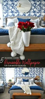 5 Reasons I Chose Removable Wallpaper for our Master Bedroom