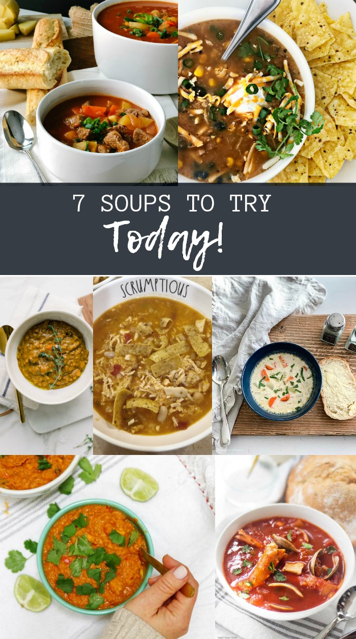 7 easy and delicious soup recipes