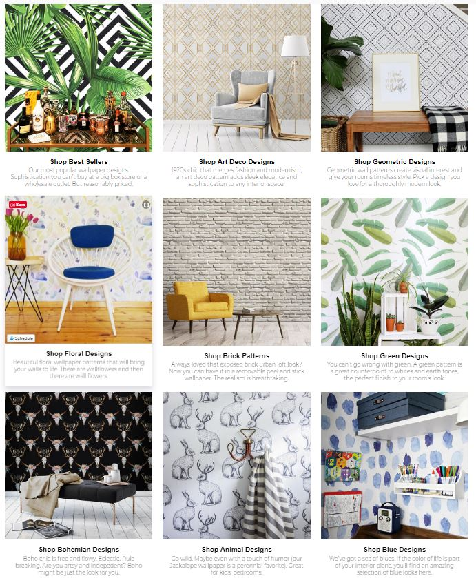 removeable wallpaper patterns and colors Walls Need Love