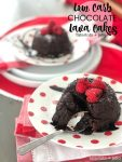 Decadent Sugar-Free Chocolate Lava Cake. This cake is our favorite and I've updated our tried and true recipe, all the taste with a healthier spin. Sugar-Free, Low Carb and Keto friendly!