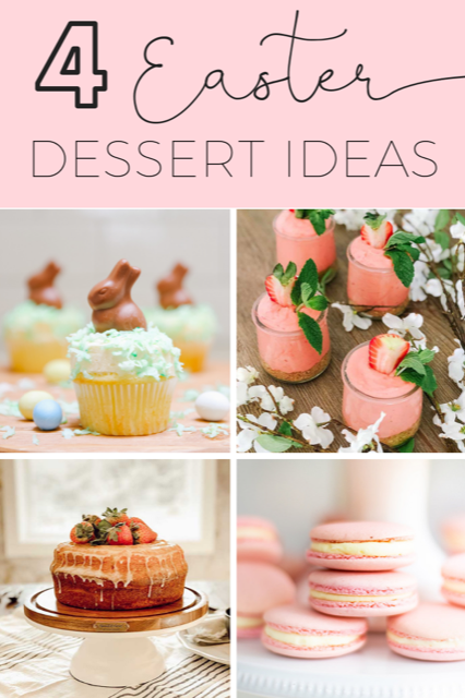 4 amazing desserts to make for Spring!