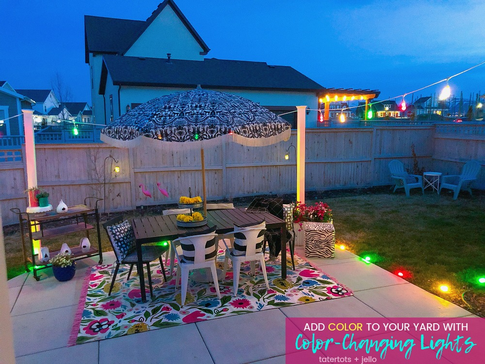 Add Color to Your Outdoor Space with Color-Changing Lights!Enbrighten Color Changing Seasons Cafe and Seasons Mini Landscape Lights are easy to install and with 120 possible color combinations, they are the perfect way to add color to ANY occasion.