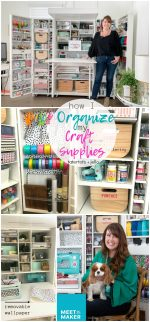 How I Store and Organize ALL of My Craft Supplies!