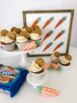The BEST OREO Carrot Cake Cookie Frosting Recipe