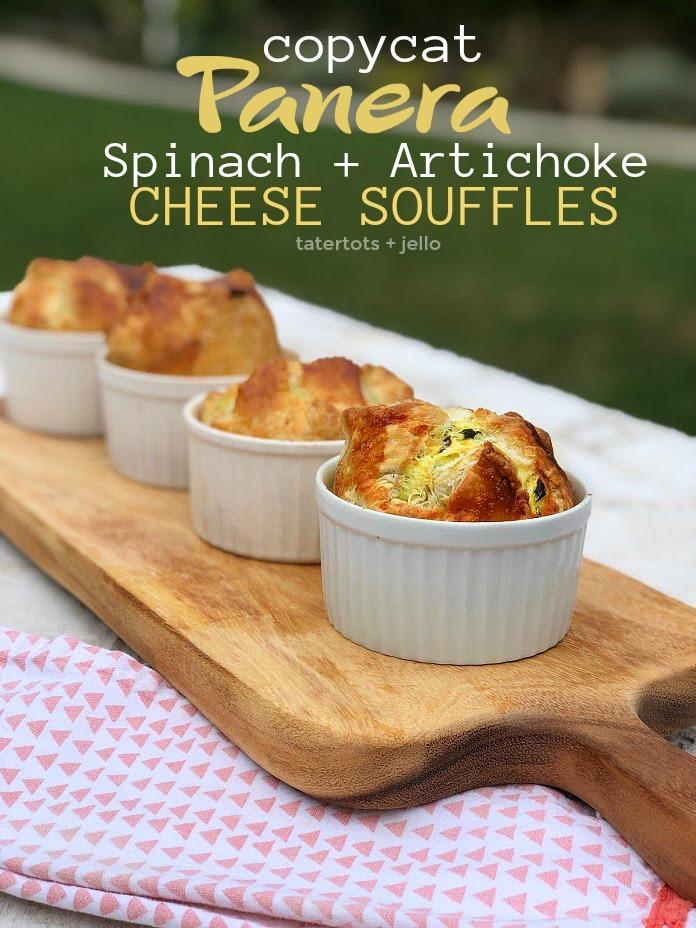 Copycat Panera Spinach and Artichoke Egg Soufflés – SO good!