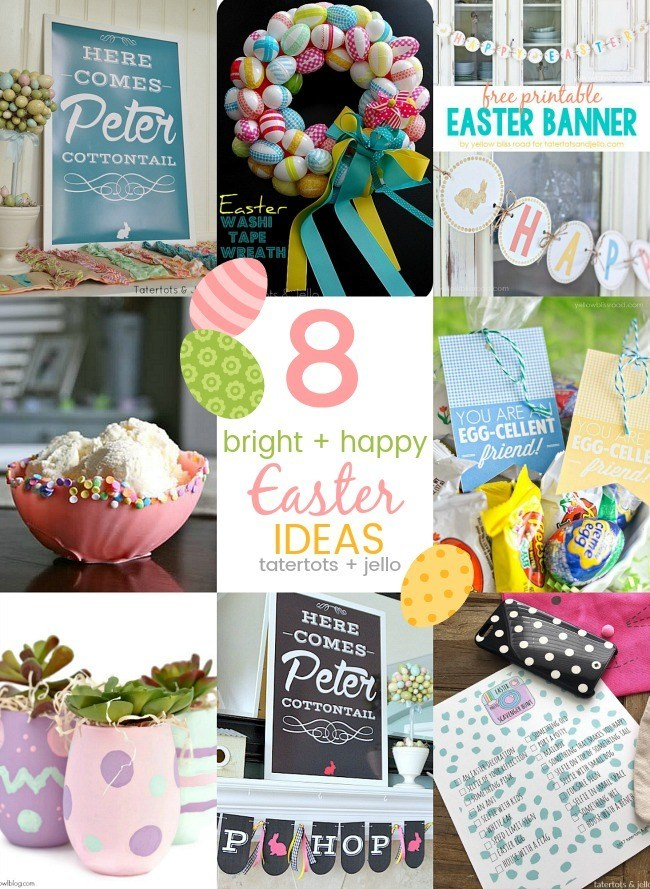 8 Bright and Happy Easter DIY Ideas