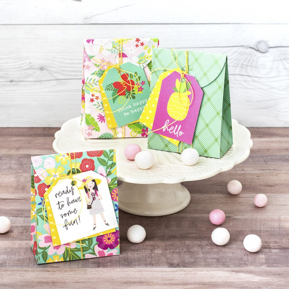 chasing adventures line is a bright and colorful line that you can use to create summer parties!