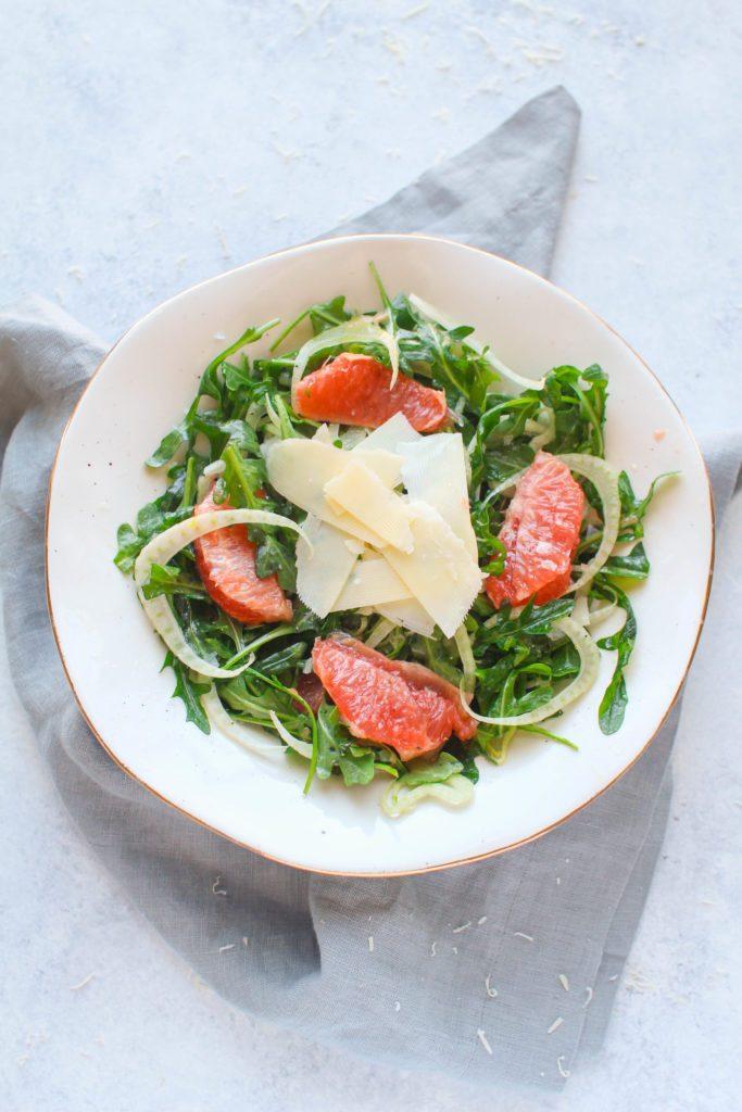 grapefruit fennel salad